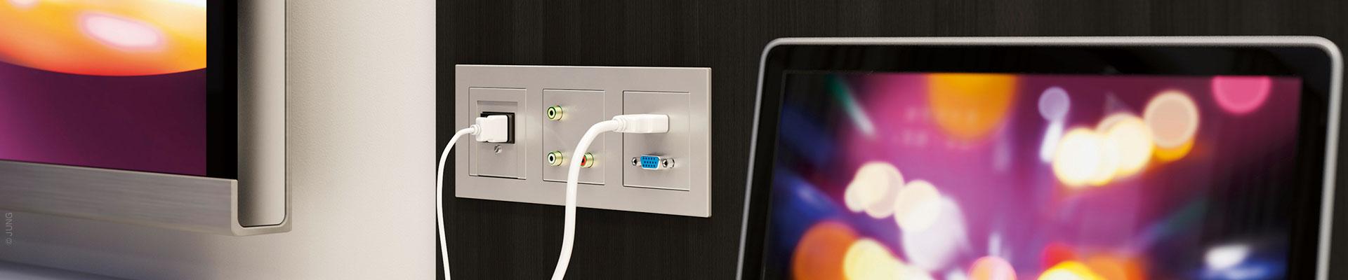 Elektrotechnik und Kommunikationstechnik im Haus