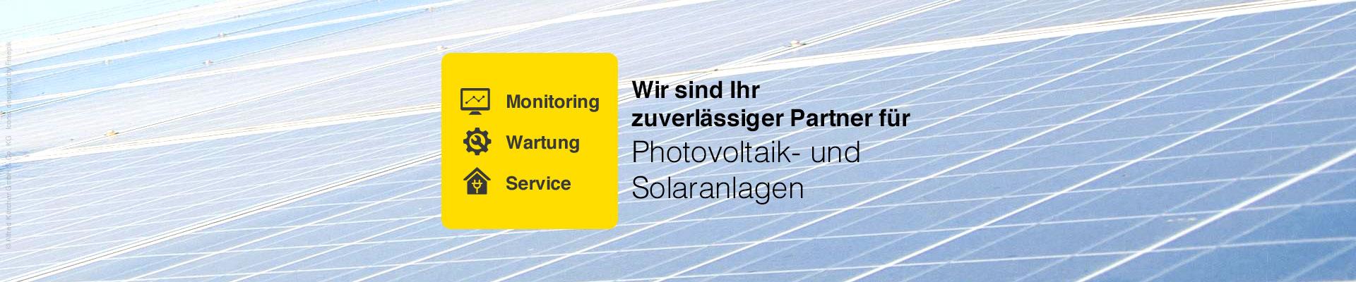 Wartung von Photovoltaik- und Solaranlagen