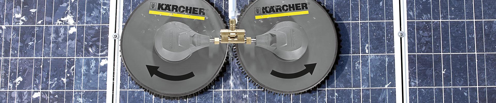 Kärger Reinigungssystem für Photovoltaik- und Solaranlage